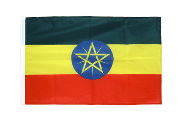 Ethiopia with star Sleeved Flag PRO 2x3 ft