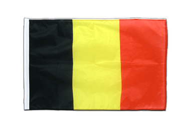 Belgium Sleeved Flag PRO 2x3 ft
