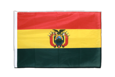 Bolivia Sleeved Flag PRO 2x3 ft