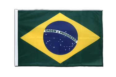 Brazil Sleeved Flag PRO 2x3 ft