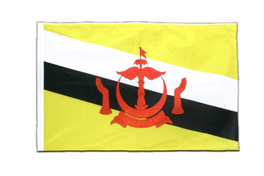 Brunei Sleeved Flag PRO 2x3 ft
