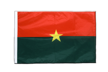 Burkina Faso - Sleeved Flag PRO 2x3 ft