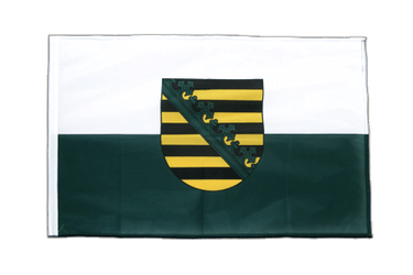 Saxony Sleeved Flag PRO 2x3 ft