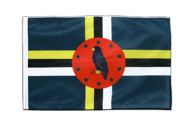 Dominica Sleeved Flag PRO 2x3 ft