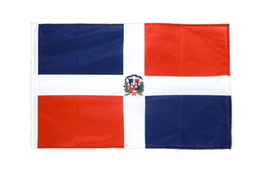 Dominican Republic - Sleeved Flag PRO 2x3 ft