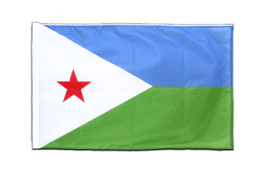 Djibouti - Sleeved Flag PRO 2x3 ft