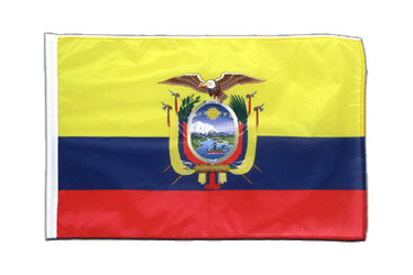 Ecuador Sleeved Flag PRO 2x3 ft