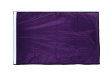 Purple Sleeved Flag PRO 2x3 ft