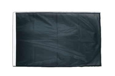 Black - Sleeved Flag PRO 2x3 ft