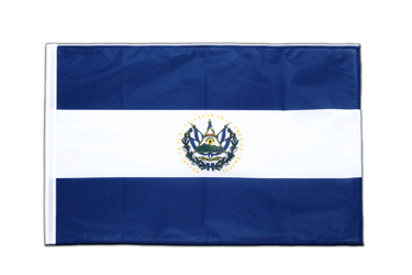 El Salvador Sleeved Flag PRO 2x3 ft