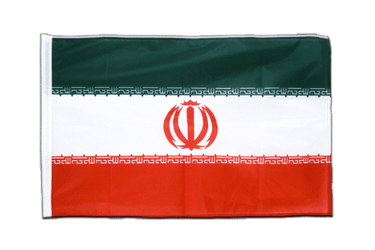 Iran - Sleeved Flag PRO 2x3 ft