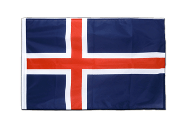 Iceland Sleeved Flag PRO 2x3 ft