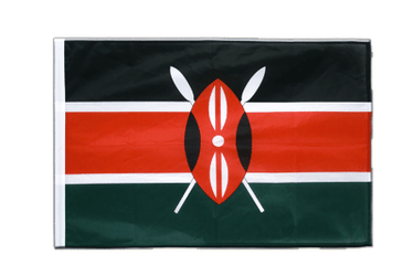 Kenya - Sleeved Flag PRO 2x3 ft
