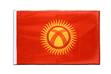 Kyrgyzstan Sleeved Flag PRO 2x3 ft