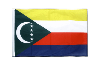 Comoros Sleeved Flag PRO 2x3 ft