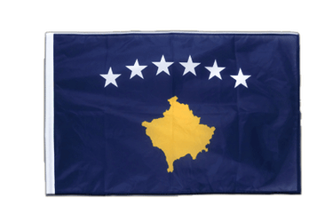 Kosovo - Sleeved Flag PRO 2x3 ft