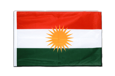Kurdistan Sleeved Flag PRO 2x3 ft