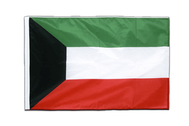 Kuwait Sleeved Flag PRO 2x3 ft