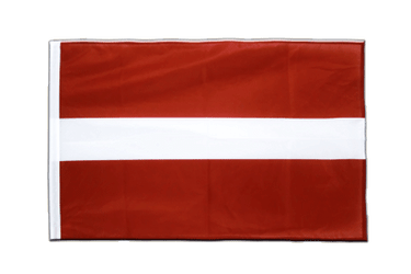 Latvia - Sleeved Flag PRO 2x3 ft