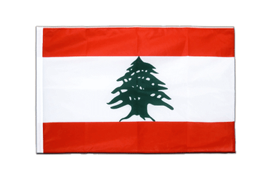 Lebanon Sleeved Flag PRO 2x3 ft