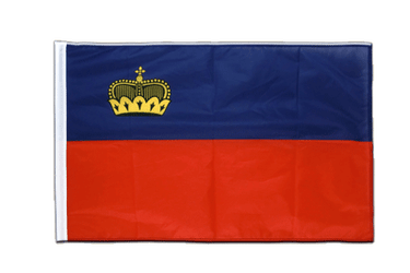 Liechtenstein Sleeved Flag PRO 2x3 ft