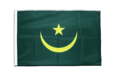 Mauritania - Sleeved Flag PRO 2x3 ft