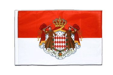 Monaco Sleeved Flag PRO 2x3 ft