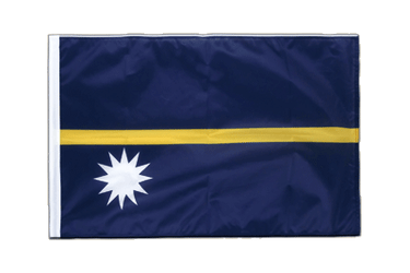 Nauru Sleeved Flag PRO 2x3 ft