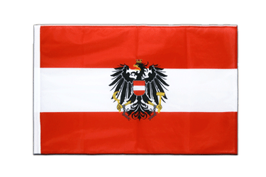Austria eagle Sleeved Flag PRO 2x3 ft