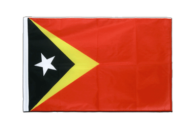 East Timor - Sleeved Flag PRO 2x3 ft