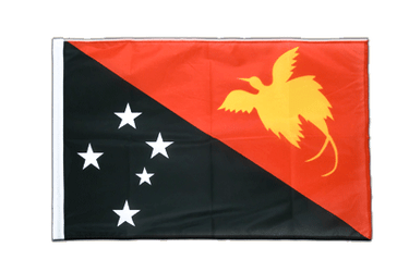 Papua New Guinea Sleeved Flag PRO 2x3 ft