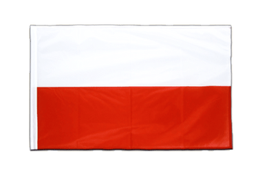 Poland Sleeved Flag PRO 2x3 ft