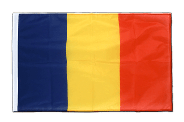 Rumania Sleeved Flag PRO 2x3 ft