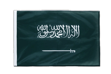Saudi Arabia Sleeved Flag PRO 2x3 ft