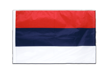Serbia Sleeved Flag PRO 2x3 ft
