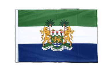 Sierra Leone Sleeved Flag PRO 2x3 ft