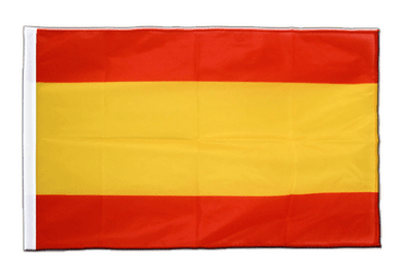 Spain without crest Sleeved Flag PRO 2x3 ft