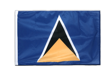 Saint Lucia Sleeved Flag PRO 2x3 ft
