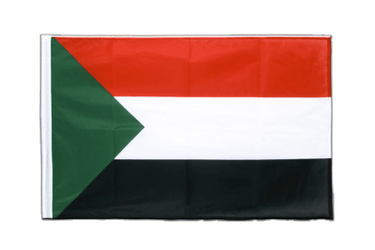 Sudan - Sleeved Flag PRO 2x3 ft