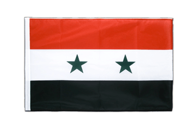 Syria - Sleeved Flag PRO 2x3 ft