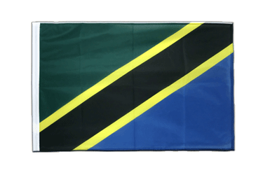 Tanzania - Sleeved Flag PRO 2x3 ft