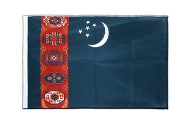 Turkmenistan Sleeved Flag PRO 2x3 ft