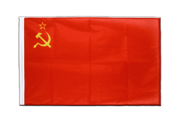 USSR Soviet Union Sleeved Flag PRO 2x3 ft