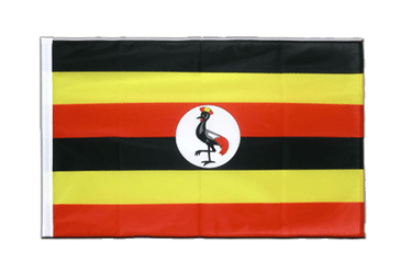 Uganda - Sleeved Flag PRO 2x3 ft