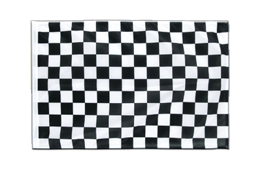 Checkered Sleeved Flag PRO 2x3 ft
