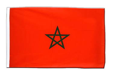Morocco Sleeved Flag ECO 2x3 ft