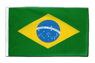 Brazil Sleeved Flag ECO 2x3 ft