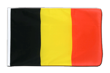 Belgium Sleeved Flag ECO 2x3 ft
