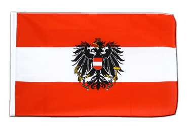 Austria eagle Sleeved Flag ECO 2x3 ft