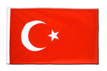 Turkey Sleeved Flag ECO 2x3 ft